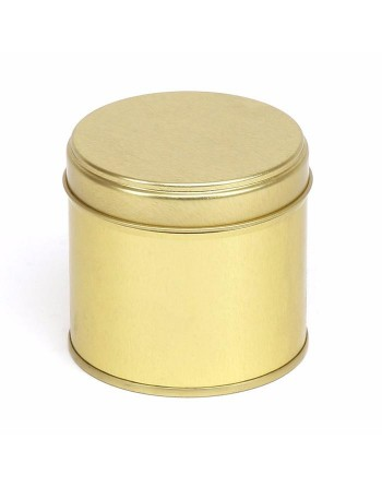 Candle Tin - 250 ml - gold
