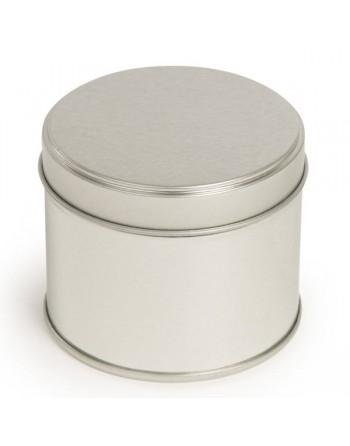 Candle Tin - 250 ml - silver