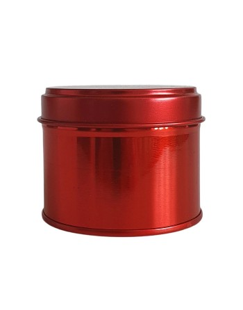 Candle Tin - 100 ml - red