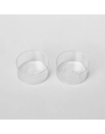 Tealight cups - clear
