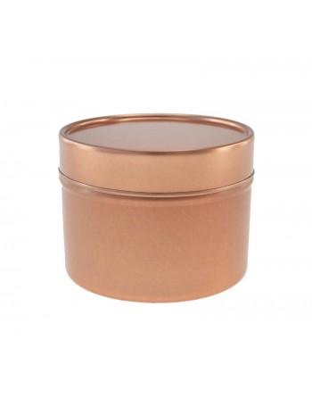 Candle Tin - 100 ml - silver